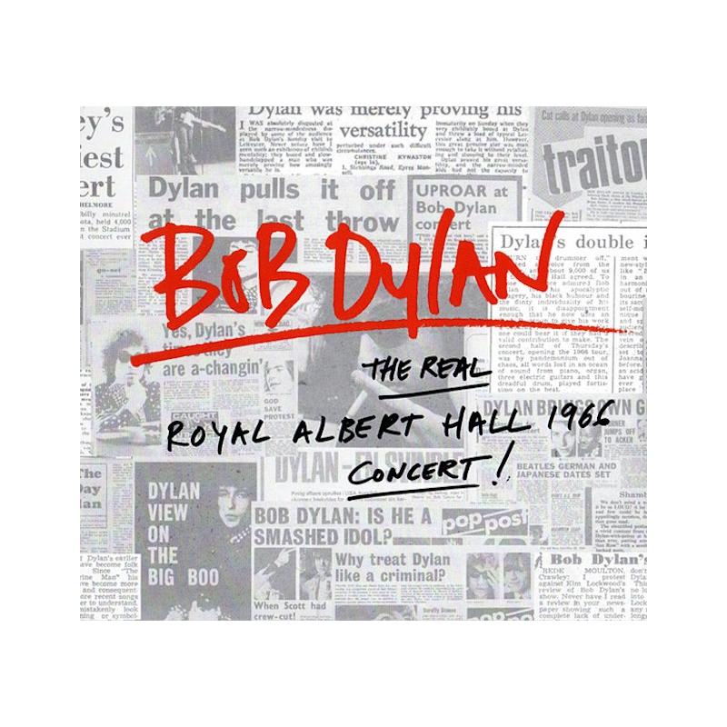 BOB DYLAN-THE REAL ROYAL ALBERT HALL 1966 CONCERT CD