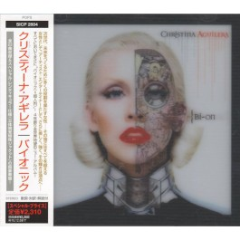 CHRISTINA AGUILERA-BIONIC CD