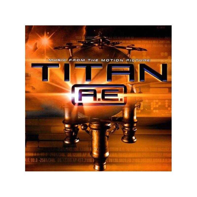 TITAN A.E.-MOTION PICTURE CD