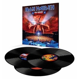 IRON MAIDEN-EN VIVO VINYL