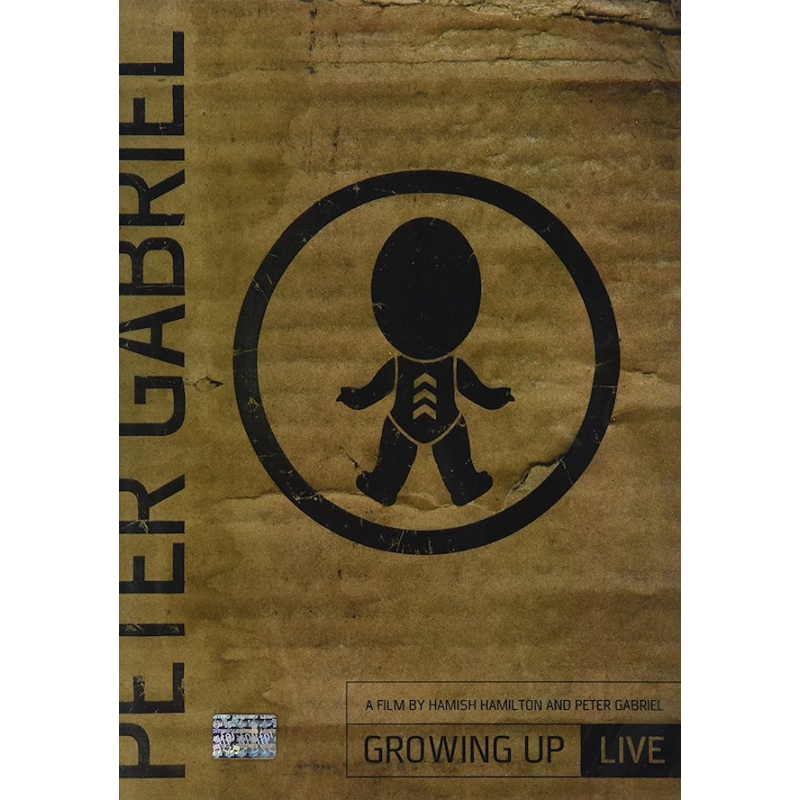 PETER GABRIEL-GROWING UP DVD