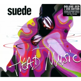SUEDE-HEAD MUSIC CD/DVD