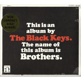 THE BLACK KEYS-BROTHERS CD