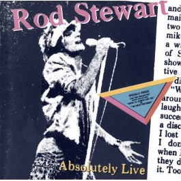 ROD STEWART-ABSOLUTELY LIVE CD