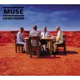 MUSE-BLACK HOLES & REVELATIONS CD