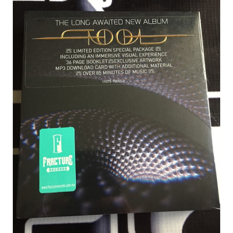 TOOL-FEAR INOCULUM (LIMITED HD RECHARGEABLE SCREEN/CHARGING CABLE/SPEA CD   0190759505526