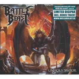 BATTLE BEAST-UNHOLY SAVIOR CD