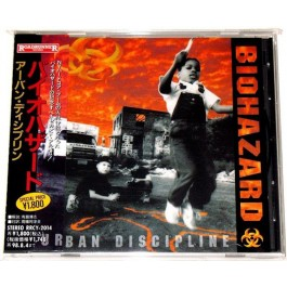 BIOHAZARD-URBAN DISCIPLINE CD