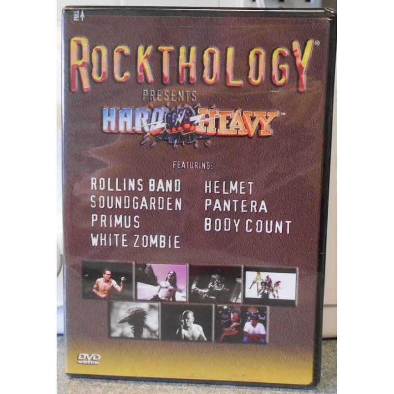 ROCKTHOLOGY-HARD AND HEAVY VOL 3 DVD