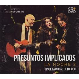 PRESUNTOS IMPLICADOS-LA NOCHE 2 CD/DVD