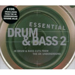 ESSENTIAL DRUM & BASS 2 CD