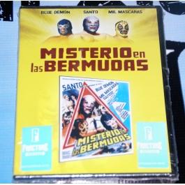MISTERIO EN LAS BERMUDAS BLUE/SANTO/MIL DVD