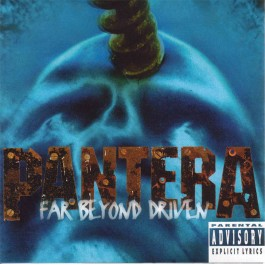 PANTERA-FAR BEYOND DRIVEN CD