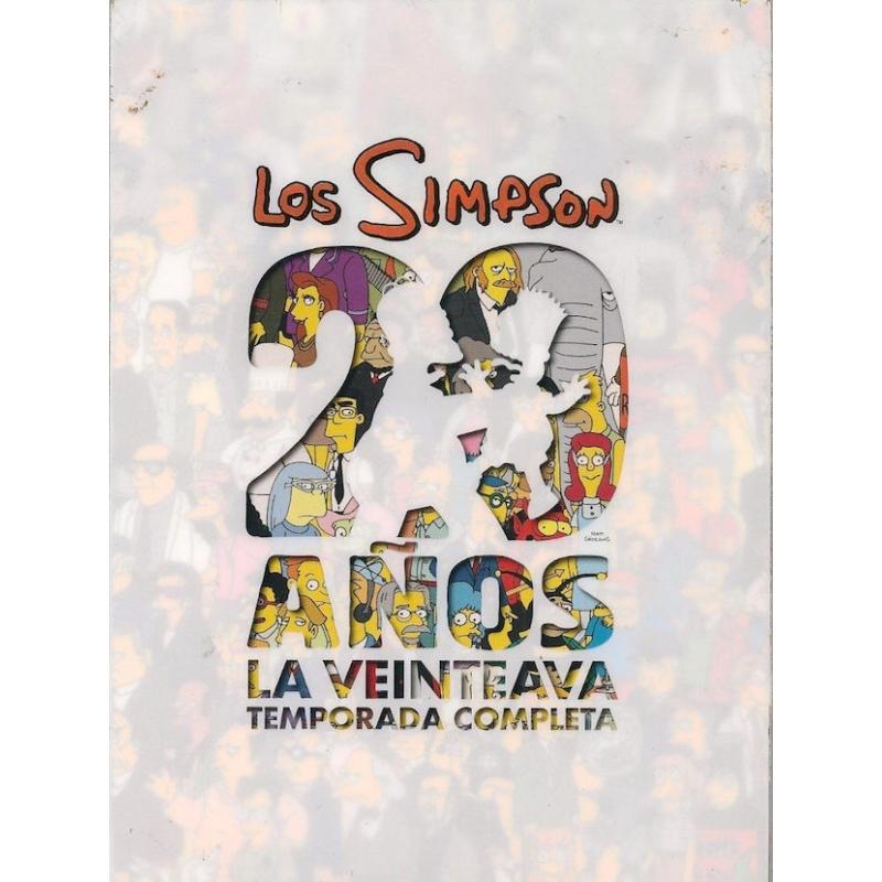 LOS SIMPSON-20 AÑOS TEMPORADA COMPLETA DVD