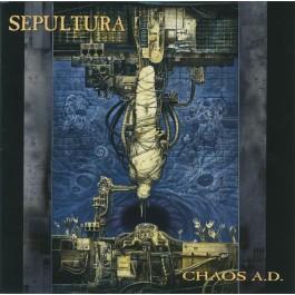 SEPULTURA-CHAOS A.D. CD