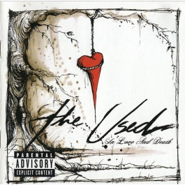 THE USED-IN LOVE AND DEATH CD